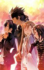 Sword Art Online (Kirito x Asuna) by Grace18_otaku