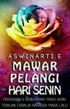 Mawar Pelangi di Hari Senin by Aswinarti-E