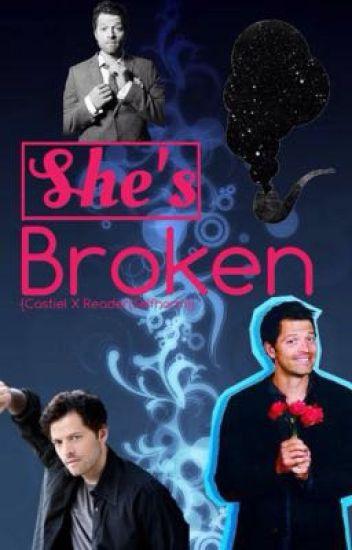 She's Broken (Castiel X Reader{Self-harm}) - Misha calls me