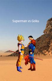 Superman vs Goku by JohnCenaaaaaaa