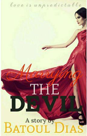 Marrying The Devil | ✔ by batoul_d