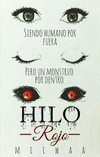 Hilo Rojo: Reflejo    Kaneki Ken by miiwaa