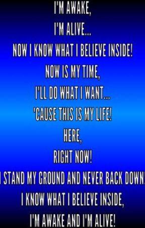 Random Song Lyrics! - Awake And Alive ~Skillet - Wattpad