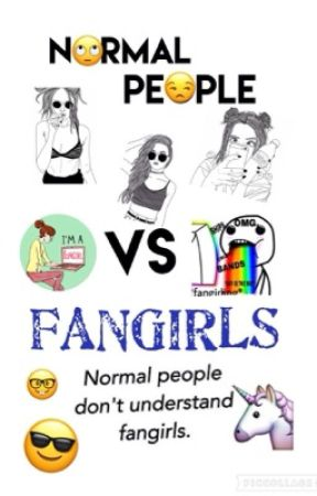 Normal People Vs FANGIRLS by ClacliBraveFrost