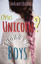One Unicorn? Thousand Boys by ImAlwaysBadBij