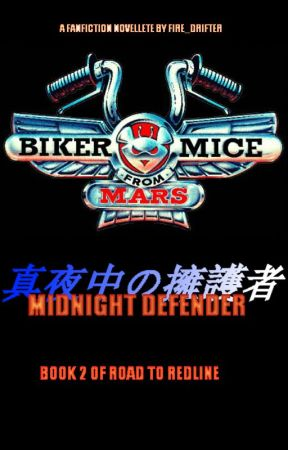 Biker Mice From Mars - Midnight Defender by fire_drifter