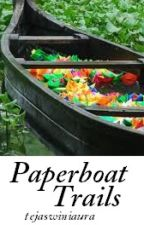 Paperboat Trails by tejaswiniaura