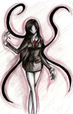 Slenderman's daughter by FLUFFYCITTEN
