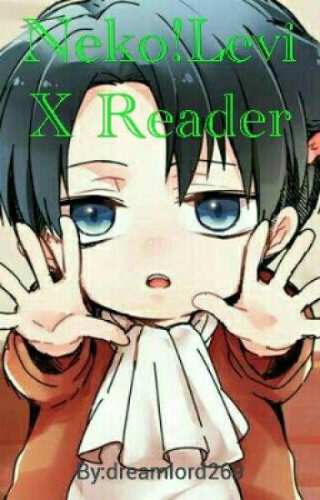 Neko!Levi X Reader