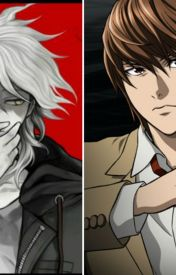 Death Note x Danganronpa Crossover by Red-Rosalie