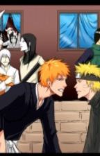 Naruto and bleach crossover- soul reaper and ninja by guja_786