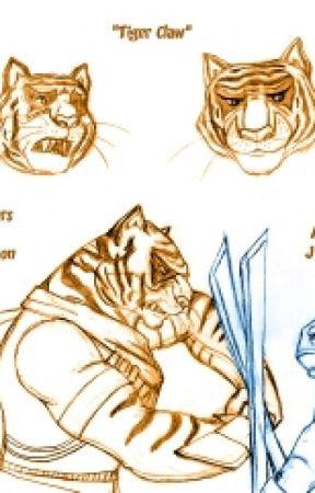 Tmnt - Tigerclaw x Author by FoxGarg