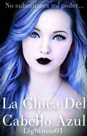 La Chica Del Cabello Azul © by Lightness01