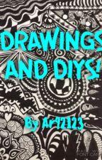 DRAWINGS AND DIYS! by annabanana_010