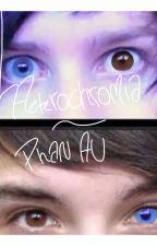 Heterochromia - Phan AU by srslymaddie