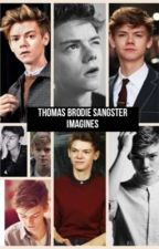 Thomas Brodie Sangster Imagines by thisgirlislike