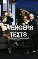 Avengers Texts by TheGingerLumberjack