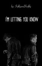 I'm Letting You Know (Ziam) - Traducción by ForgiveQuickly