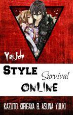 Kirito y Asuna: Style Survival Online by YaiJdr