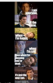 David Tennant Pick up lines and just all around cuteness ❤️ by MrsDavidTennant23