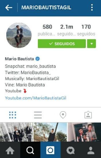 instagram (mario bautista & tu)