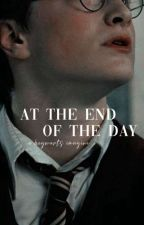 At The End of The Day || Hogwarts boys x reader by cheekychann