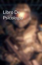 Libro De Psicologia by RAGM001