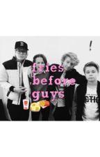 Fries before guys - tfc & skyscraper  by gwenishappy_x