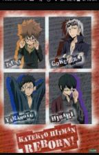 KHR X Reader That Time Of The Month! by ElenaTheOtaku