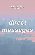 direct messages   kim mingyu by akinonymouss