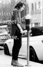 Just don't forget me, please [H.S.] by iHazelG
