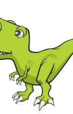 Dinosaurio by DracoHis