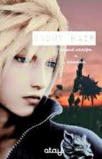 Snowy Hair (Cloud Strife X Reader) by Darkest_Madge_YY__