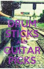 Drumsticks and Guitar Picks - Complete by sempiiturtlee