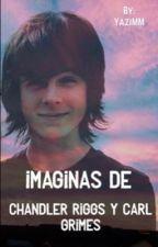 Imaginas de Chandler Riggs y Carl Grimes  by YaziMM