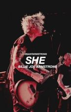 she ; billiejoe armstrong by blurryarmstrong