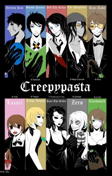 Creepypasta OC X Creepypasta by KristenOliver