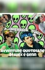 Avventure Quotidiane Di Genn E Alex by iodicesmile