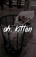 oh, kitten ; j + t by pinkleanos
