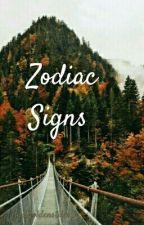 Zodiac Signs  by caffine-