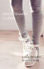 peach flavoured hi chew; bit-to by Evenssss