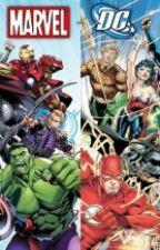 Marvel Vs Dc Comics by EmilianoDiaz2