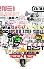 Tên Hán Việt - Hangul của một số kpop groups by seoyoonnie_22