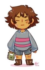 Baby Frisk {an undertale fanfiction} by Deanwinchestersgirl4