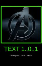 Text 101 ft: The Avengers by Pepper-Potts2