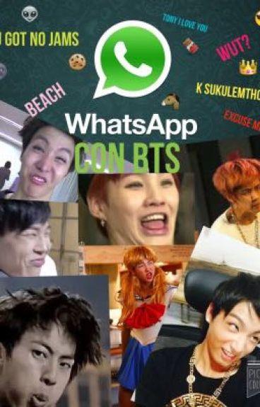WhatsApp con BTS