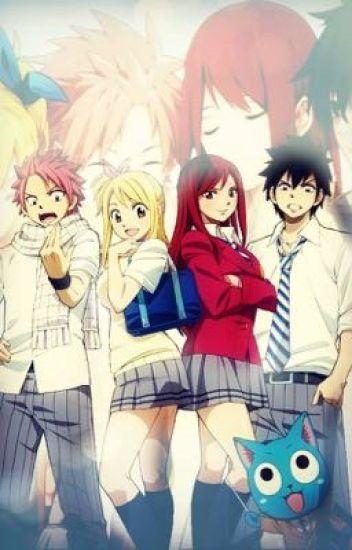 Fairy Tail Academy- NatsuXReader