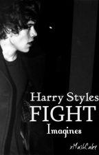 Harry Styles Fight Imagine by xMashCake