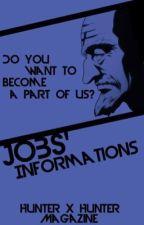 Jobs' Information   Hunter x Hunter Magazine by HxH_Magazine
