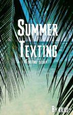 Summer Texting SK (Texting story) Prebieha oprava  by kriss-